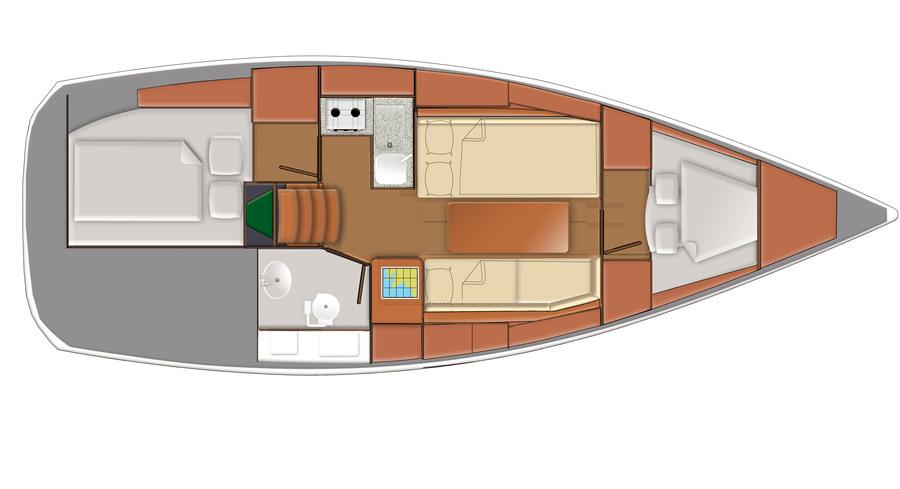 Delphia Yachts  - cab2.jpg