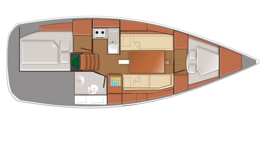 Delphia Yachts  - cab4.jpg